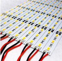 aluminium flat bars - 5630 LED M LED Bar Light Strip Non waterproof DC V Hard Strip Aluminium U V Profile Shell Led Bar Strip Light