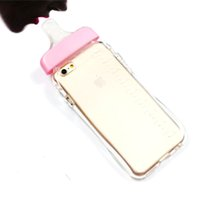 baby armband - For iPhone Case Inch Cute D Baby Milk Bottle Clear Rubber TPU Pink colour But Also For Iphone G S