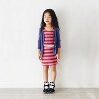 Wholesale Eleven Story DH baby Girls spring fall fruit color kids cotton Cardigan children clothes clothing BB406CT