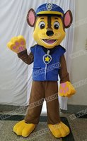 Wholesale HOT Sale AM0619 adult cartoon character patrol chase dog mascot costume party dress cartoon mascot suit