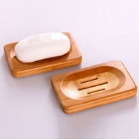 bamboo soap holder - Hot Worldwide Natural Bamboo Wood Soap Dish Storage Holder Bath Shower Plate Bathroom