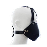 adult typing games - SM Bondage Slave Head Harness Mouth Gag Apertural Plug Sexy Products for Couple The Ball Horse With Type Oral Fixation Adult Games Toys