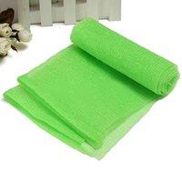 bath soap sponge - Brand New Hot Bath Shower Soap Body Wash Exfoliate Puff Sponge Mesh Net Nylon Cloth Towel Hot Light Green