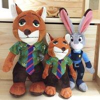 animal farm movie - Kids Gift Zootopia Plush Toy Smart Rabbit Judy Hopps Stupid Fox Wilde Movie Kids Dolls Stuffed Toys Plush Zootopia Dolls