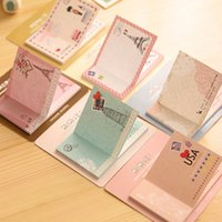 Wholesale Korean Cute Kawaii Post It Planner Diary Sticky Notes And Memo Pads Stationery In Notebook Office Supplies
