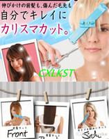 Wholesale New Hair Cutting Fringe Cut Shape For QI Bangs Set DIY Bangs Tools Hair Clippers Hair Tools Cutting