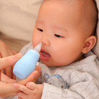 Wholesale Baby Newborns Nasal Vacuum Mucus Suction Aspirator Soft Runny Nose Cleaner Congestion And Blocked Nose High Quality