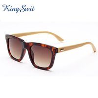 anti reflective eyeglasses - New Vintage Wooden Rectangle Sunglasses For Men And Women Anti Reflective Lens Eyeglasses Bamboo Temple Eyewear KW058