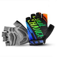 Wholesale 2016 Coolchange Cycling Gloves Half Finger Guanti Luvas Para Guantes Ciclismo Gel Luva Bike Gloves Bicycle Biking Gloves MTB Mountain