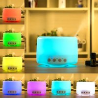 Wholesale 500ml Aromatherapy Essential Oil Diffuser Portable Ultrasonic Cool Mist Aroma Humidifier with Color LED Lights ST BUY IT NOW