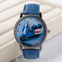 assorted buckle - Fashion style women s watch men wristwatches brand quartz fabric strap analog watch assorted style Car Motorcycle FP099