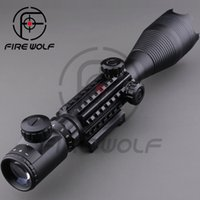 night vision scope - 2016 Rifle scope x50EG Red Green Dot Reflex Sight r gun sight riflescopes LLL night vision scopes for hunting