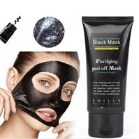 Wholesale SHILLS Deep Cleansing Black MASK Pore Cleaner ML Blackhead Remover Facial Mask Care Cleansing Peel Off Black Mud Purifying Peel Acne