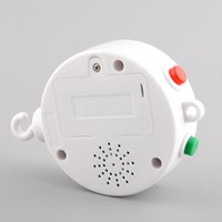 Wholesale Electric Autorotation White Baby Kids Bed Bell Crib Mobile Melodies Songs Baby Room Decoration Accessories