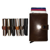 Unisex best cashes - Simple and Minimal Best and Cool Slim Wallets for Men Real Cow Leather Wallet with Card Holder for Cash and Many Cards