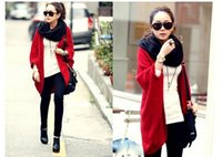 Wholesale 2016 autumn outfit new knit female coat Han edition loose bat sleeve shawl sweater cardigan Large size ladies