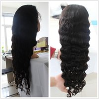 Wholesale human hair wigs Brazilian hair wigs full lace wigs lace front wigs glueless Swiss lace curly deep wave wigs hot selling