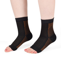 Wholesale Copper Compression Recovery Ankle Sleeve Foot Sleeve for Plantar Fasciitis Best Ankle Arch Heel Support Socks Reduce Swellings Provides