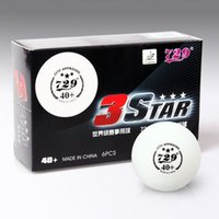 Wholesale New Material CELL FREE Star Level PingPong Ball Table Tennis Ball Official Ball of World Games B3