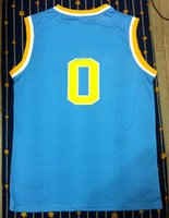 Wholesale Basketball jersey Sky blue College University jersey new jersey all name number sitched