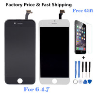 Wholesale For IPhone AAA quality No dead pixel LCD Display Touch Digitizer Complete Screen Assembly Replacement With