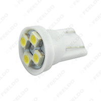Wholesale 1000pcs White T10 W5W Chip LED Wedge Car LED Light Bulbs