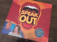 Wholesale SPEAK OUT Funny Mouthpiece Game By Hasbro PRE ORDER SHIPS IN OCTOBER NEW
