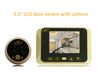 Wholesale DIY quot LCD Visual Electronic Doorbell IR Camera Digital Peephole Door Viewer LED Light Night Vision