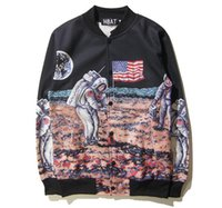 baseball cards size - HBAT men jacket influx of new fall and winter clothes men s baseball cards Moon printing large size cardigan jacket