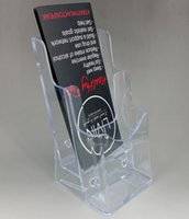 acrylic brochure - Good Package Clear A6 Tiers Acrylic Plastic Brochure Literature Display Holder Stand To Insert Leaflet On Desktop