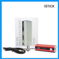automatic fire protection - With fire protection atomizer Eleaf ISTICK W Battery Capacity amh short circuit protection Automatic Alarm and HD OLED display