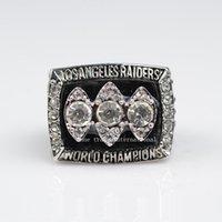 envío del precio inferior Sólido 1983 anillo de campeonato Raiders Réplica