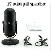 Wholesale JY JY JY13 Portable mini bluetooth Wireless Speakers microphone Hi Fi Music Player of Light Micro SD TF Mic USB Earphone Port