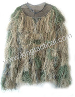 Wholesale Camo Jungle Yowie Camouflage Ghillie Bionic Training Bowhunting Suit for Hunting