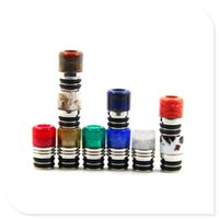 resin material - High Quality Resin Drip Tip Epoxy Resin Material Wide Bore Drip Tips Colorful Drip tip fit RDA RBA RTA Atomizer DHL free