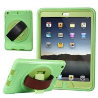airs candies - For Ipad Air Case For Ipad Air case Candy color Green PC TPU Contrasting colors match three lovely cases and