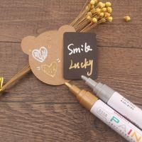 Wholesale Colors Colorful Markers Office Finance Writting Pens Paint DIY Pens Paint Brush