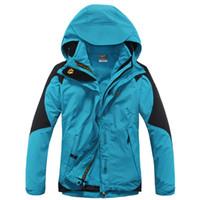 Wholesale In Women Winter Warm Hiking Jackets Outdoor Waterproof Windproof Skiing Jackets Sports Windbreaker Outwear FeMale Jack