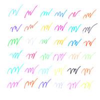 Wholesale Colors Gel Ink Pen refills Rollerball Refill Pastel Neon Glitter Sketch Drawing Copic Markers Marker Manga Aquarela Capinhas