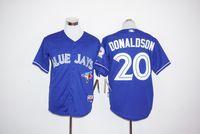 Wholesale Toronto Blue Jays Baseball Jerseys Kevin Pillar Toronto Blue Jays Jose Bautista Josh Donaldson Russell Martin th Anniversary