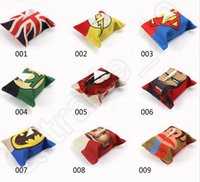 Wholesale 17 Designs cm Cartoon Anime Characters Tissue Box Cover Minions Flag Superman Captain America Tissue Holder Pumping Tray LJJJ42