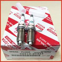 Wholesale 4pcs Denso SC20HR11 Japan original Iridium Spark plugs for Toyota corolla Carola Vios Car candles