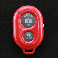 Wholesale Phone Bluetooth Remote Shutter Self timer Bluetooth Shutter For iPhone s s plus iPad Samsung S3 S4 Note3 Moto X