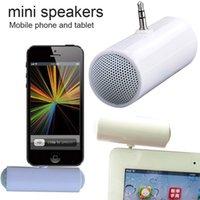 Wholesale New Universal mm Mono Mini Portable Music Speaker Audio Stereo Speakers for MP3 MP4 Smartphone moblie phone