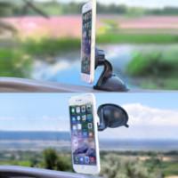 Compra La rotación del imán-Nuevo universal 360 Rotación Auto Conveniente imán de succión coche parabrisas Soporte para el teléfono móvil Parabrisas barato parabrisas