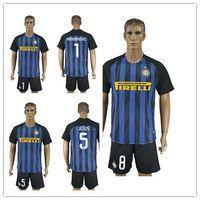 Wholesale Fast Thai Soccer Jersey Inter Milan KONDOGBIA PALACIO ICARDI MEDEL JOVETIC Blue Black Home Jerseys