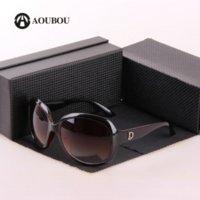 big logos - 2016 Sunglasses Women Brand Designer With LOGO Black Big Frame Glasses Gafas Oculos De Sol Feminino