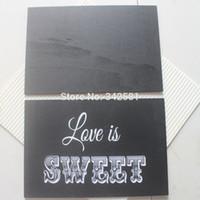 antique blackboard - 22x15cm BLACKBOARD SIGN CHALKBOARD ANTIQUE WHITE WORDS VINTAGE WEDDING SHABBY CHIC LARGE Wedding Party Decor