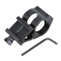 Wholesale High Quality Outdoor Tactical Rail Mount mm Ring for Scope Flashlight Torch Hunting Tool with Wrench Black