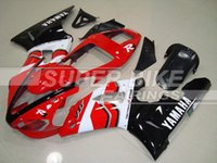 abs motorcycle fairings - New Fitment Guarantee motorcycle ABS Fairing Kit Fit YAMAHA YZF R1 YZFR1 YZF R1 YZFR1000 nice glossy red black